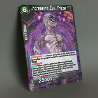 Dragon Ball Super Cards Increasing Evil Frieza P-037 FOIL NM Special PR Promo