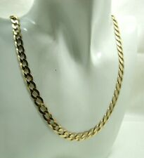 Gents Super Quality 9 carat Gold Curb Link Neck Chain