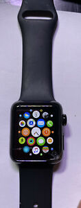 Apple Watch Series 2 38mm Plus original Box & Packaging Black Great Value Deal