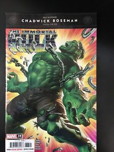 Immortal Hulk 38 Alex Ross main NM 38A first 1st print