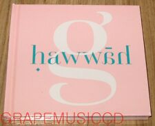 GAIN Brown Eyed Girls Hawwah 4TH MINI ALBUM CD + POSTCARD + POSTER IN TUBE CASE