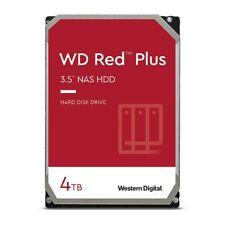 "4TB WD Red Plus NAS 3.5"" HDD SATA Internal Hard Drive 5400RPM WD40EFZX"