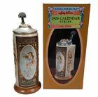 Anheuser-Busch Budweiser Stein Fall Malt AB Bud 1906 Calendar Series Malt