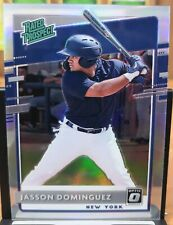 2020 Panini Optic Jasson Dominguez - Yankees Silver Prizm RP-11 Rated Rookie