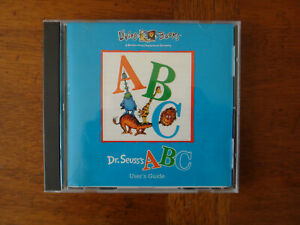 Dr. Seuss's ABC (PC Windows 95/3.1/Mac 1995) CD ROM - Broderbund Living Books