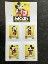 PORTUGAL 2018 Booklet Mickey 90 Years