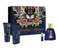 CHRISTIAN AUDIGIER 3.4 / 3.3 oz edt Cologne Deo GEL Mini 4 Pc GIFT SET NEW NIB
