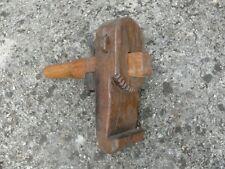 Outil ancien rabot jabloir de tonnelier   19 ème siècle old tool