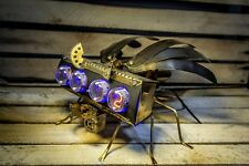 IN-4 NIXIE CLOCK MILITARY DRONE 2 || as Z568M IN-18 || Handmade & Unique
