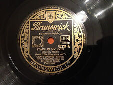 "GRACE MOORE ""Stars In My Eyes""/""Learn How To Lose"" 78rpm 10"" 1936 EXC+"