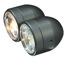 Crystal clear twin headlight black Suzuki GSF Bandit 600 650 1200 1250 N