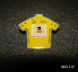 1 AUTHENTIC TOUR DE FRANCE 2003 USPS YELLOW JERSEY PIN BADGE TDF ROAD RACING