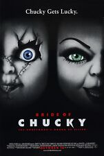 Bride of Chucky - Jennifer Tilly - A4 Laminated Mini Movie Poster
