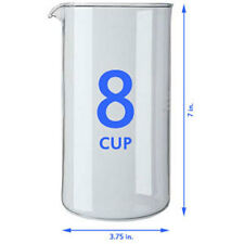 BonJour French Press Replacement Glass 8 Tasse Cup
