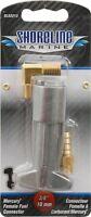 Mercury Mariner female metal boat fuel fitting gas 3/8 hose barb 1/4 npt SL52213