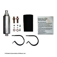 NEW WALBRO 255LPH UNIVERSAL INLINE EXTERNAL HIGH PRESSURE FUEL PUMP W/KIT GSL392