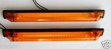 2 Bernstein Orange Umriss LED Begrenzungsleuchten Seitenlampe Anzeigetafel 12/