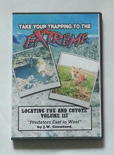 EXTREME Fox And Coyote Trapping DVD Video Volume III