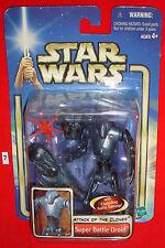 Star Wars Super Battle Droid Attack of the Clones 2002 Nip C9 Condition