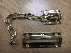 Yale Security Door Chain - Safety Chain - Polished Brass