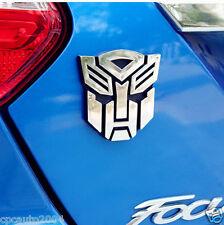 Car Metal 3'' Transformers Autobot Trunk Badge Emblem Sticker for FOCUS FIESTA