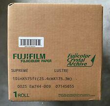 Fujifilm Fujicolor Supreme Lustre Crystal Archive 10in x 575ft Paper