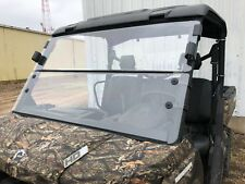 2016-2018 CAN-AM DEFENDER 1/4 POLYCARBONATE FOLD DOWN WINDSHIELD