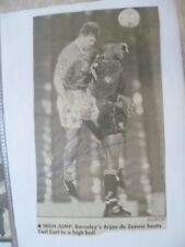 Original Hand Signed Press Cutting- ARJAN DE ZEEUW- Footballer Action photo