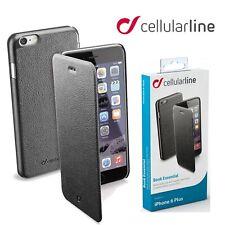 Cellularline Book Wallet Cover for Apple iPhone 6 6S PLUS Flip Slim Folio Case