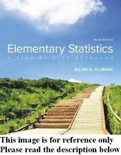 Elementary Statistics 10th by Bluman Int'l Ed.+FORMULA CARD Deliver 3-4 bus day