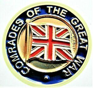 WW1 BRITISH Comrades of the Great War STICKER UK Veteran STICKER Car Van ...