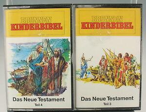 HÖRSPIEL - Das Neue Testament - Teil 3 + 4 - MC Kassette 119103 + 119104
