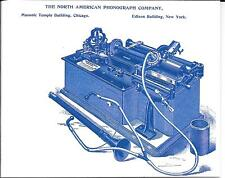 The North American Phonograph Company  PRICE GUIDE & INFORMATION - REPRINT