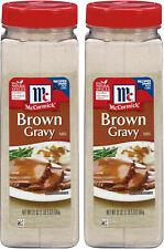 (2 pack) McCormick Brown Gravy Mix (21 oz.)