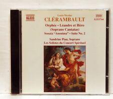 SANDRINE PIAU - CLERAMBAULT Orphée, Léandre et Héro, Sonata NAXOS CD NM