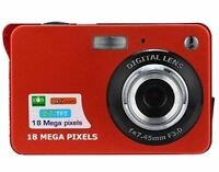 18 megapixel high-Definition Ordinary Digital Camera, 2.7-inch TFT Screen Large