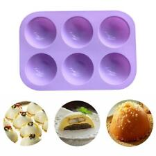 Large Half Ball Sphere Silicone Dessert Cake Mold Muffin Chocolate Baking Moulds