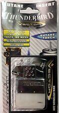 KGM Vector Thunderbird Butane Gas Flip Top Dual Reg FLAME TORCH Lighter Insert