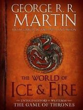 WORLD OF ICE & FIRE : THE GAME OF THRONES (Hardcover, 2012, Free Postage)