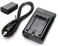 Battery + Charger for Panasonic AG-DVC80 AG-DVC180 AG-DVX100 AG-DVX102 AG-EZ50