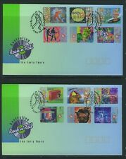 Australia 1998 Rock & Roll (2) Apm31060 P&S First Day Covers