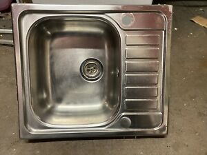 STAINLESS STEEL SINGLE SINK Very Small Drainer