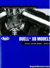 2010 Buell Xb Motorcycle Electrical Diagnostics Manual : 99493-10Y