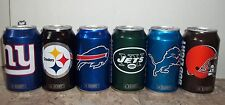 2016 BUD LIGHT NFL CANS LIONS ,BROWNS,GIANTS,JETS,BILLS,STEELERS