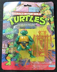 1988 TMNT Michaelangelo MOC - 10-Back - Playmates - Teenage Mutant Ninja Turtles