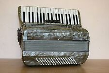 Settimio Soprani LMM Accordion 80 bass Akkordeon Fisarmonica Green - Gray