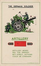 NEW A4 PRINT WW2 THE GERMAN SOLDIER BRITISH ARMY POSTER THE ARTILLERY WERMACHT