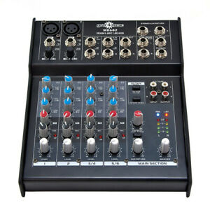 Gear4Music ME602 6 Channel mixer