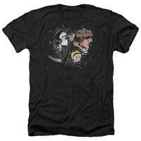 Grim Adventures of Billy & Mandy SPLATTER CAST Adult Heather T-Shirt All Sizes