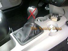 Para VW Volkswagen Nuevo Escarabajo 98-11 Cubierta De Cuero Negro Polaina de arranque Cambio De Engranaje
